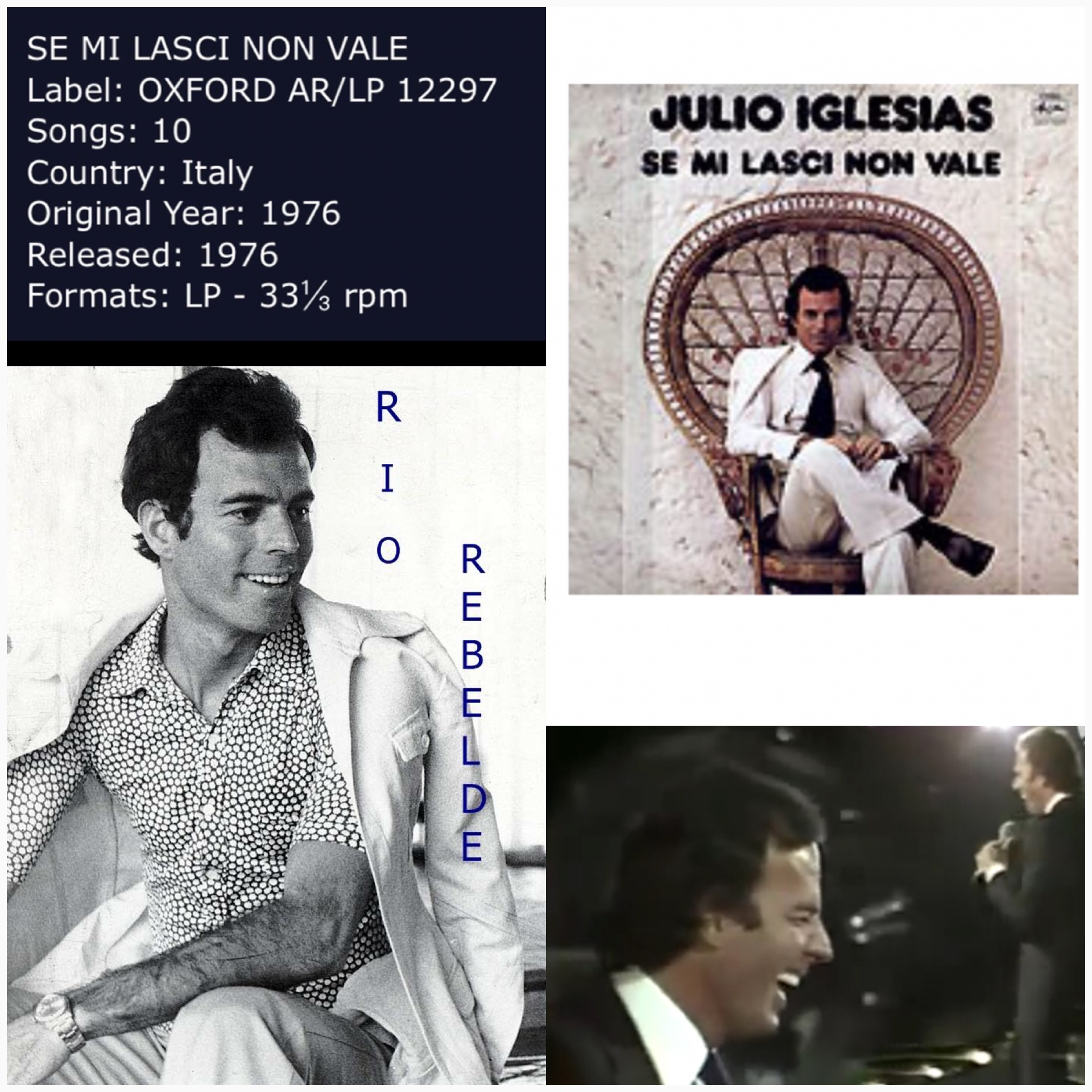 a biography of julio iglesias Enrique iglesias is a spanish singer known for several hit songs, including bailamos, rhythm divine, be with you, escape and hero he is the son of spanish singer julio iglesias.