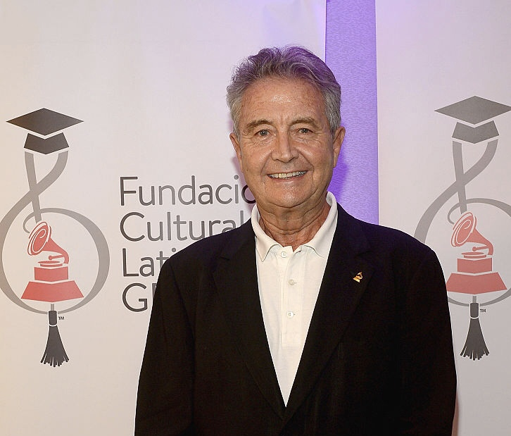 MIAMI BEACH, FL - APRIL 29: Manolo Diaz attends the Latin GRAMMY Cultural Foundation And Enrique Iglesias Scholarship Presentation at Ritz Carlton South Beach on April 29, 2015 in Miami Beach, Florida. (Photo by Gustavo Caballero/WireImage for LARAS)